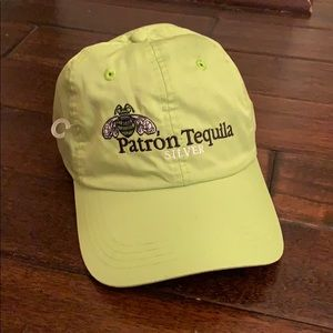 Patron Tequila Silver Baseball Hat NWT!!!